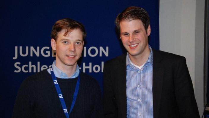 Tobias Loose (l) und Frederik Heinz